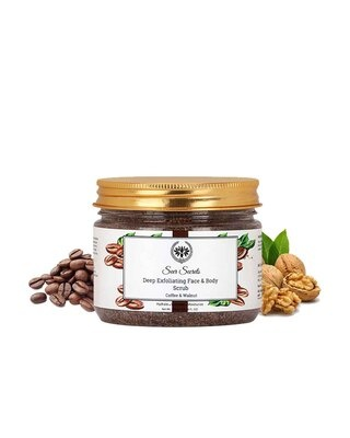 Shop Seer Secrets Deep Exfoliating Face & Body Scrub for Dead Skin Cells, Dullness and Roughness-Front