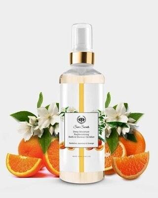 Shop Seer Secrets Sedative Jasmine and Orange Deep Moisture Replenishing Bath and Shower Oil-Front