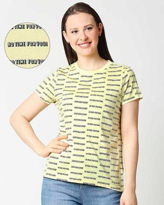Shop Self Love 2.0 Round Neck Half Sleeves T-Shirt-Front