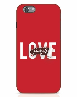 Shop Self Love iPhone 6s Mobile Cover-Front