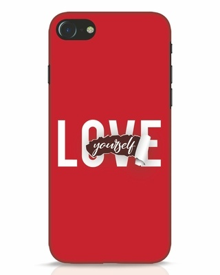 Shop Self Love iPhone 8 Mobile Cover-Front