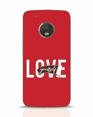 Shop Self Love Moto G5 Plus Mobile Cover-Front
