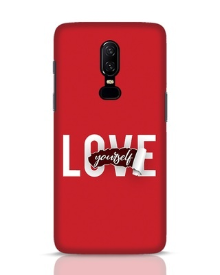 Shop Self Love OnePlus 6 Mobile Cover-Front