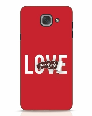 Shop Self Love Samsung Galaxy J7 Max Mobile Cover-Front