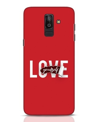 Shop Self Love Samsung Galaxy J8 Mobile Cover-Front