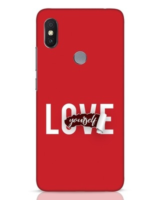Shop Self Love Xiaomi Redmi Y2 Mobile Cover-Front