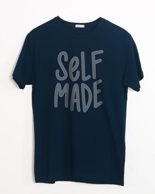 Shop Self Made Half Sleeve T-Shirt-Front