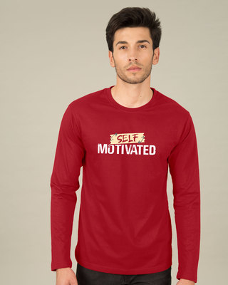 Shop Self Motivated Full Sleeve T-Shirt-Front