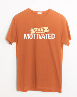 Shop Self Motivated Half Sleeve T-Shirt-Front
