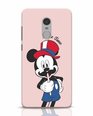 Shop Selfie Mickey Xiaomi Redmi Note 4 Mobile Cover-Front