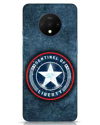 Shop Sentinel Of Liberty OnePlus 7T Mobile Cover (AVL)-Front