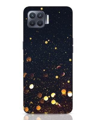 Shop Sequins Oppo F17 Pro Mobile Cover-Front