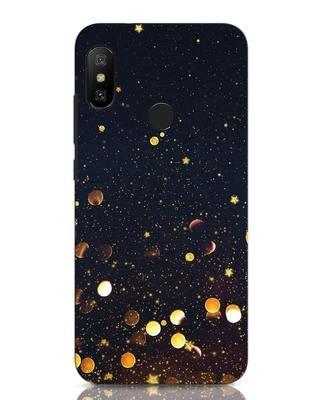 Shop Sequins Xiaomi Redmi Note 6 Pro Mobile Cover-Front