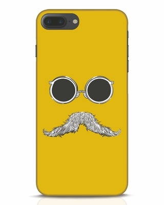 Shop Shady Moustache iPhone 7 Plus Mobile Cover-Front