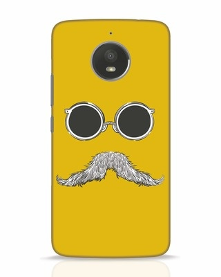 Shop Shady Moustache Moto E4 Plus Mobile Cover-Front