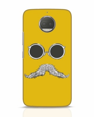 Shop Shady Moustache Moto G5s Plus Mobile Cover-Front