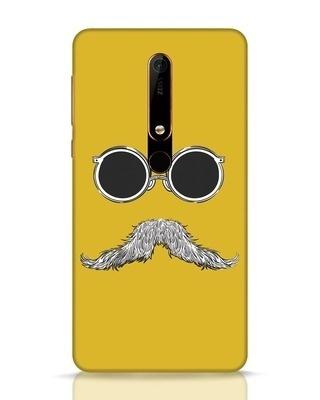 Shop Shady Moustache Nokia 6.1 Mobile Cover-Front