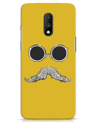 Shop Shady Moustache OnePlus 7 Mobile Cover-Front