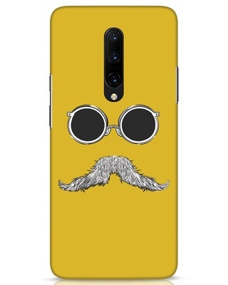 Shop Shady Moustache OnePlus 7 Pro Mobile Cover-Front