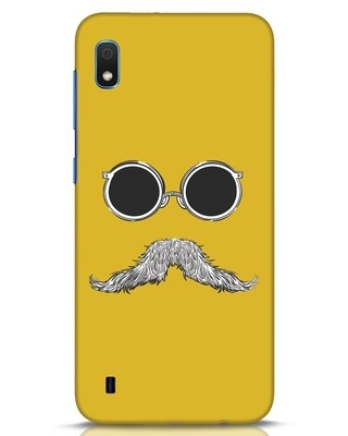 Shop Shady Moustache Samsung Galaxy A10 Mobile Cover-Front