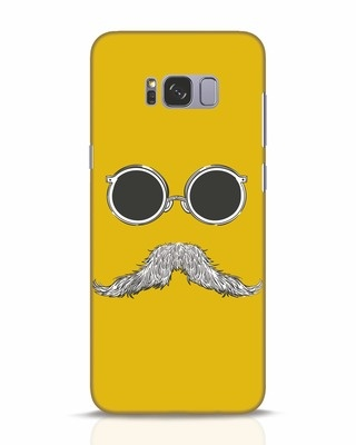 Shop Shady Moustache Samsung Galaxy S8 Plus Mobile Cover-Front