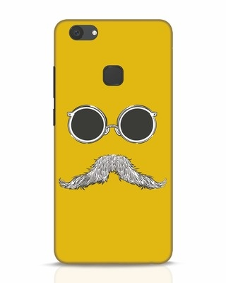 Shop Shady Moustache Vivo V7 Plus Mobile Cover-Front
