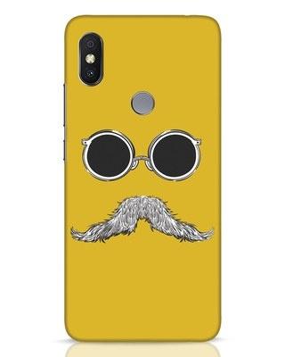 Shop Shady Moustache Xiaomi Redmi Y2 Mobile Cover-Front