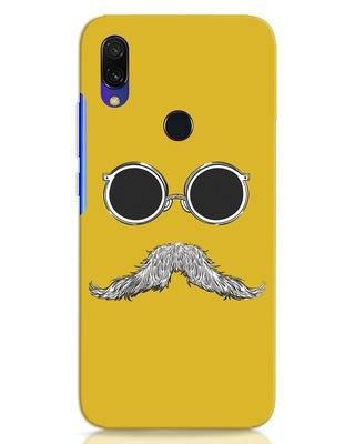 Shop Shady Moustache Xiaomi Redmi Y3 Mobile Cover-Front