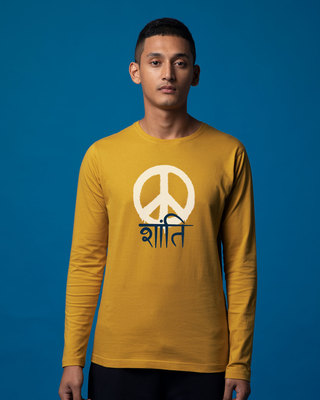 Shop Shanti Full Sleeve T-Shirt-Front