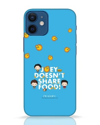Shop Share Food iPhone 12 Mini Mobile Cover (FRL)-Front