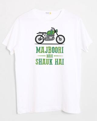 Shop Shauk Hai Half Sleeve T-Shirt-Front