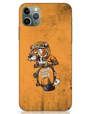 Shop Sher Aaya Sher iPhone 11 Pro Max Mobile Cover-Front