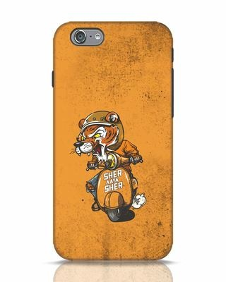 Shop Sher Aaya Sher iPhone 6s Mobile Cover-Front