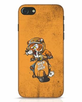 Shop Sher Aaya Sher iPhone 7 Mobile Cover-Front