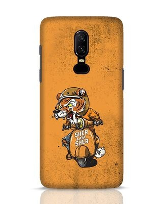 Shop Sher Aaya Sher OnePlus 6 Mobile Cover-Front