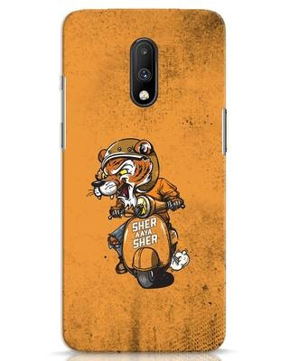 Shop Sher Aaya Sher OnePlus 7 Mobile Cover-Front