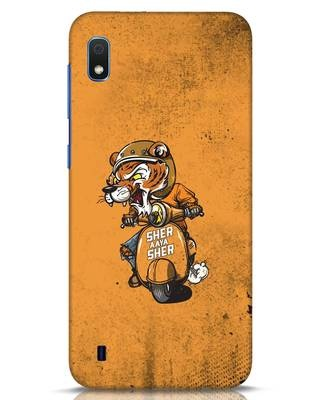 Shop Sher Aaya Sher Samsung Galaxy A10 Mobile Cover-Front