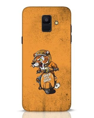 Shop Sher Aaya Sher Samsung Galaxy A6 2018 Mobile Cover-Front