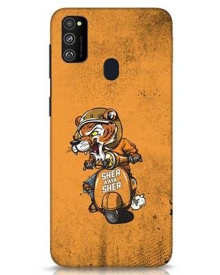 Shop Sher Aaya Sher Samsung Galaxy M30s Mobile Cover-Front