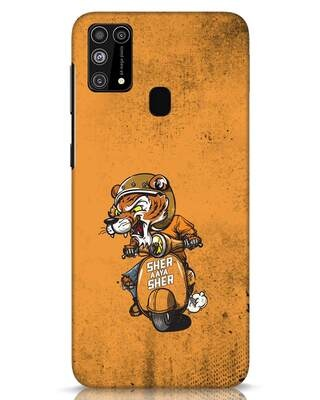 Shop Sher Aaya Sher Samsung Galaxy M31 Mobile Cover-Front