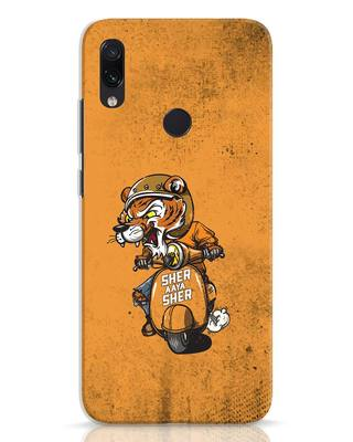 Shop Sher Aaya Sher Xiaomi Redmi Note 7 Pro Mobile Cover-Front
