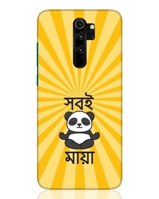 Shop Shobi Maya Panda Xiaomi Redmi Note 8 Pro Mobile Cover-Front