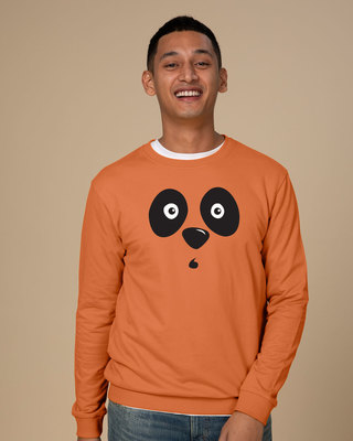 Shop Shocked Panda Sweatshirt-Front