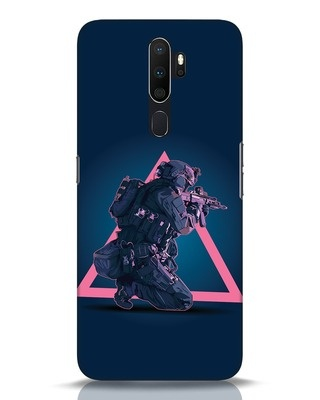 Shop Shooting Gamer Oppo A5 2020 Mobile Cover-Front