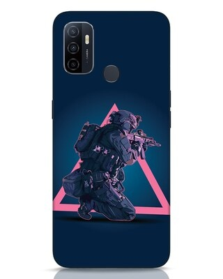 Shop Shooting Gamer Oppo A53 Mobile Cover-Front