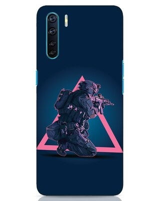Shop Shooting Gamer Oppo F15 Mobile Cover-Front