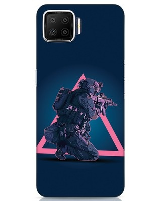 Shop Shooting Gamer Oppo F17 Mobile Cover-Front