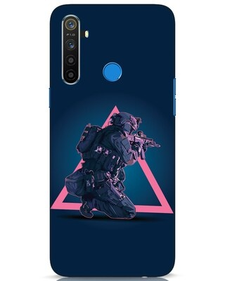 Shop Shooting Gamer Realme 5 Mobile Cover-Front