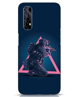 Shop Shooting Gamer Realme 7 Mobile Cover-Front