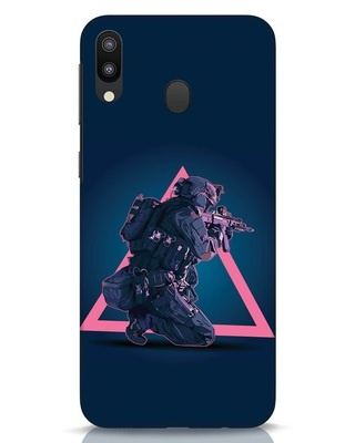 Shop Shooting Gamer Samsung Galaxy M20 Mobile Cover-Front